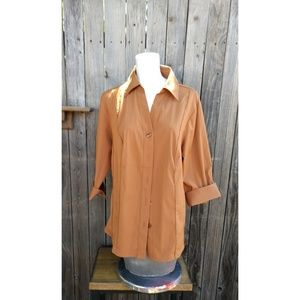 Long sleeve blouse size 14/16